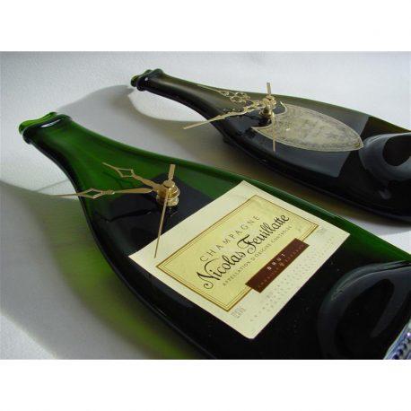 Champagne Bottle Clock