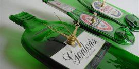 Gordons Gin Bottle Clock