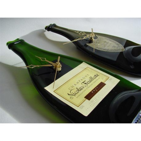 Champagne Bottle Clock