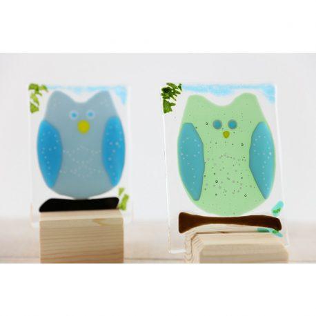 Owl Suncatchers