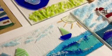 Linda Rowe - Glass Workshop