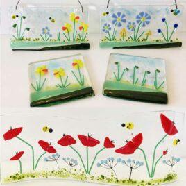 Fused Glass Flower Workshop