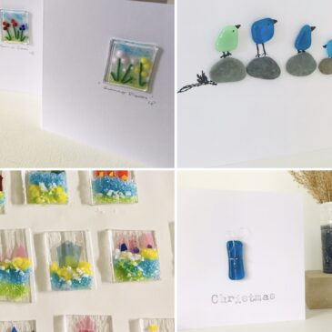 Fused Glass Card Making Workshop –  Morning – Friday 8th October 2021 – Bournemouth