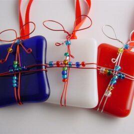 Fused Glass Christmas Decoration Workshop – Friday 3rd December – Morning- Salisbury