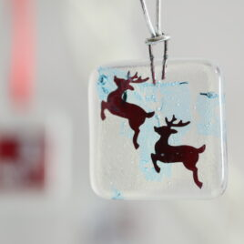 Fused Glass Christmas Decoration Workshop – Morning – Saturday 20th November 2021 – Bournemouth